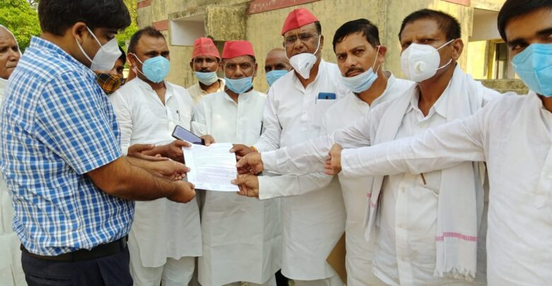 SP submitted memorandum to SDM against the rules in lieu of wheat purchase